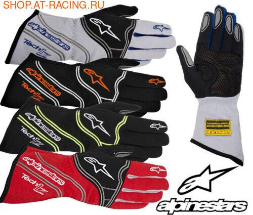 Перчатки Alpinestars Tech 1-Z (фото, вид 1)