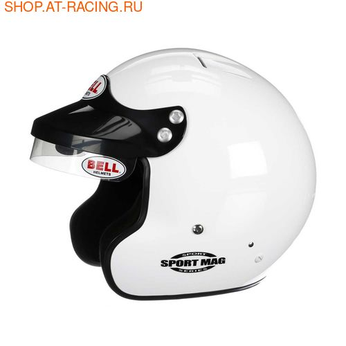 Шлем Bell Mag-1 no Hans (фото, вид 1)
