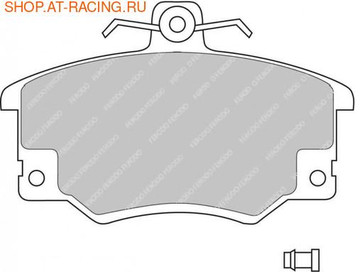 Ferodo Racing Колодки тормозные передние DS3000 (фото, вид 1)