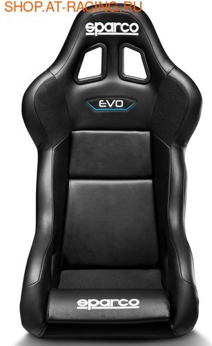 Спортивное сиденье (ковш) Sparco Evo QRT Sky (фото, вид 2)