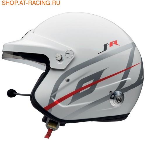 Шлем OMP J-R HANS STEREO INTERCOM (фото, вид 2)