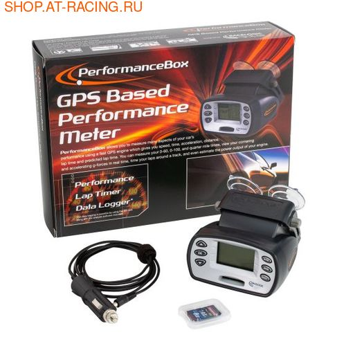 Измерительный прибор RACELOGIC PERFORMANCE BOX (фото, вид 1)
