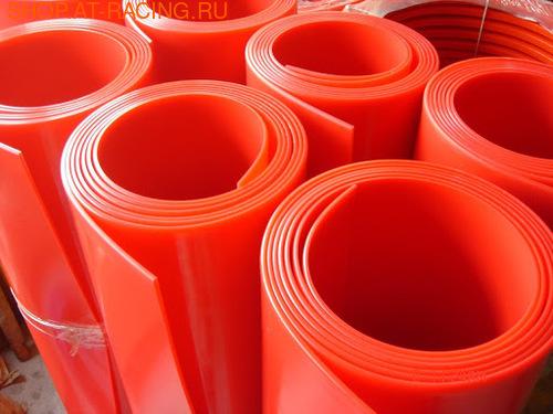 Пластик для брызговиков и расширителей арок красный