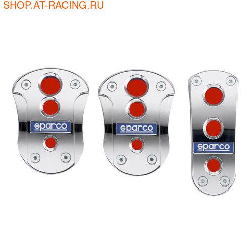 Накладки на педали Sparco Cromo