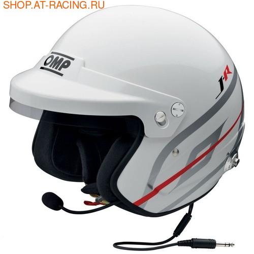 Шлем OMP J-R HANS STEREO INTERCOM (фото)