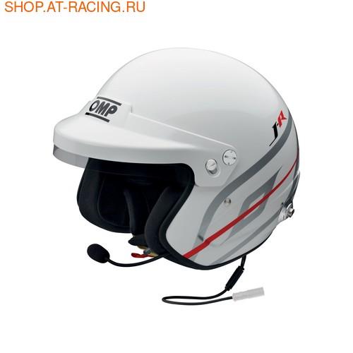 Шлем OMP J-R HANS INTERCOM NEXUS