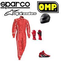 ���������� ��� �������� Sparco, OMP, Alpinestars