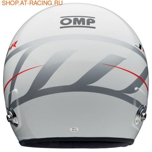 Шлем OMP J-R HANS STEREO INTERCOM (фото, вид 3)
