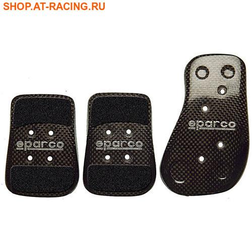 Накладки на педали Sparco Carbon