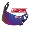 Simpson Визор Devil Ray Iridium